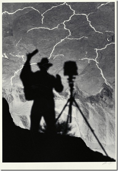 Ansel Adams_Self Portrait, Monument Valley, Utah