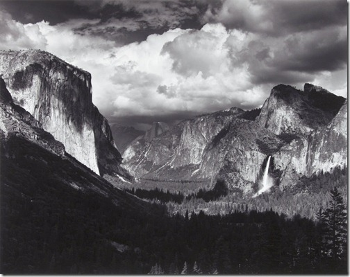 Ansel Adams_Yosemite Valley, Thunderstorm