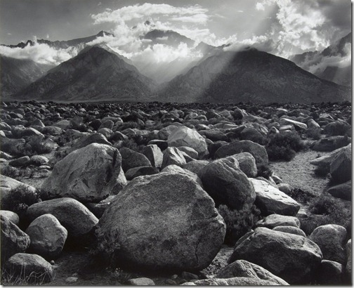 Ansel Adams_Mt. Williamson, Sierra Nevada, from Manzanar, California