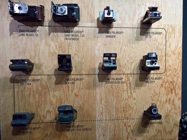 Storia fotocamere Polaroid e Impossible
